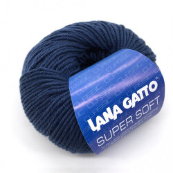 Пряжа Lana Gatto Super Soft цвет 5522 джинс
